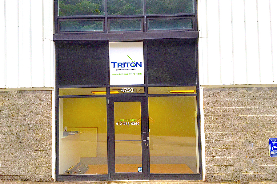 Triton Environmental's New PA offices