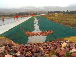 Erosion Control | Turf reinforcement Mats and Roack Check Dams