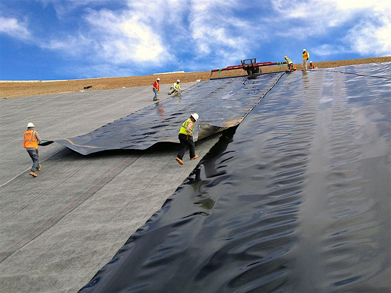 Geomembrane High-Density Polyethylene (HDPE)